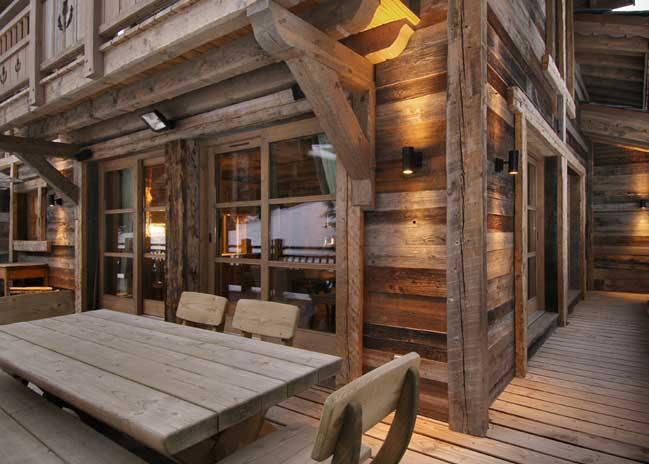 Chalet grande roche luxury courchevel 1850 chalet for hire