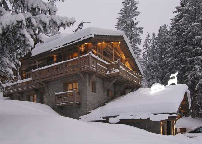 La grande roche courchevel 1850 luxury chalet with swimming pool